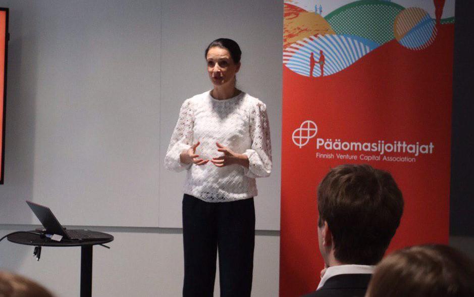 Pia Santavirta onPääomasijoittajat ry:n toimitusjohtaja