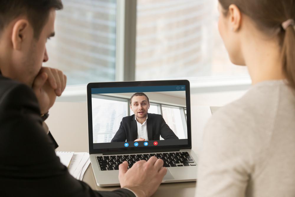 Rahoitusalan työehtosopimuksista sovitaan tarvittaessa virtuaalisesti. Kuva: Shutterstock.com